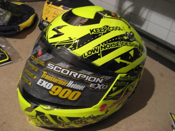Casco en venta scorpion exo 900 air sin uso 4 thumb l
